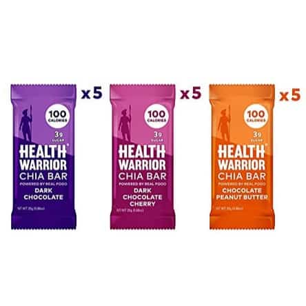 Health Warrior Chia Bars Chocolate Variety Pack 15 Count Now .31 (Was .53)