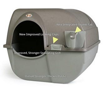 Omega Paw Roll 'n Clean Self Cleaning Litter Box Now .05 (Was .46)