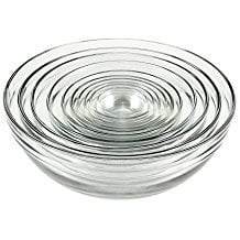 Anchor Hocking Tempered Glass Mixing Bowl 10 Piece Set Only $16.69