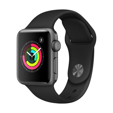 Apple Watch Series 3 GPS - 38mm - Sport Band - Aluminum Case Now $199 (Was $279)