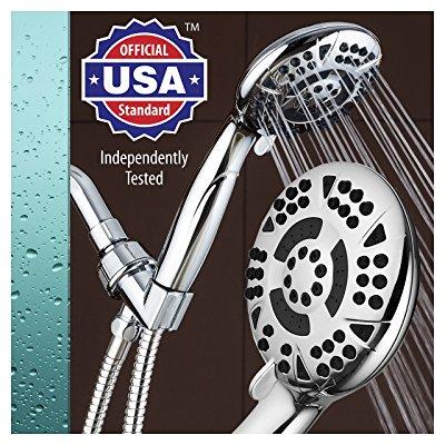 AquaDance High Pressure 6-Setting Handheld Shower Now $16.42 (Was $29.99)