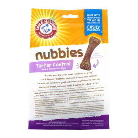 Arm & Hammer Nubbies Dental Treats for Dogs Now $0.80 (Was $7)