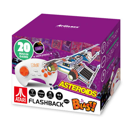 Atari Flashback Blast! Vol. 2, Asteroids, Retro Gaming Now $6.50 (Was $15.99)