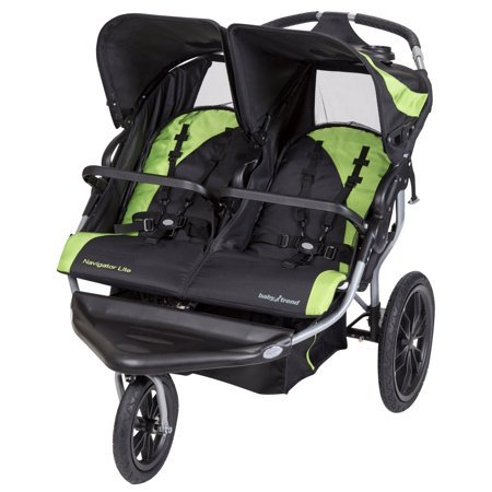 Baby Trend Navigator Lite Double Jogging Stroller, Candy Apple Now $167.99 (Was $249.99)