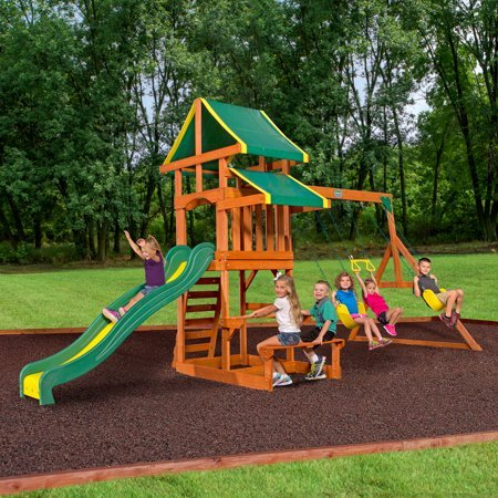 Save Hundreds on Outdoor Swing Sets at Walmart