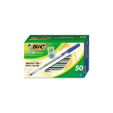 50-Count BIC Ecolutions Round Stic Ball Pens Now $0.99 (Was$7.99)