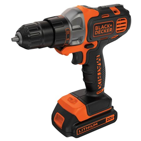 BLACK+DECKER 20V MAX Matrix Cordless Drill/Driver Now $38.90 (Was $59.99)