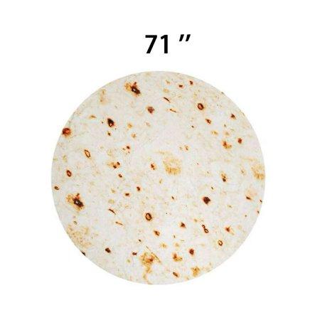 CIICII 71 Inch Ralistic Burrito Tortilla Blanket Now $19.99 (Was $46.99)