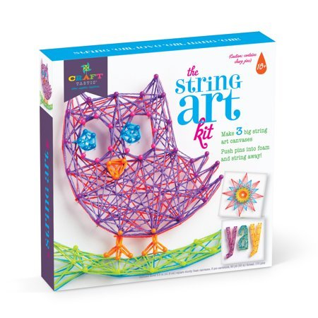 Craft-tastic - String Art Kit - Owl Edition Now $11.88 (Was $19.99)