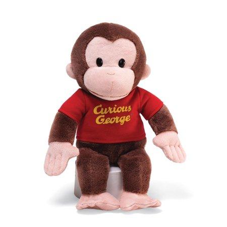 "GUND Curious George Stuffed Animal Plush, 12"" Now $6.69 (Was $14.99)"