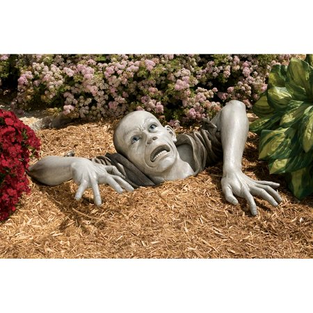 Design Toscano The Zombie of Montclaire Moors Garden Statue Now $55.99 (Was $135.95 )