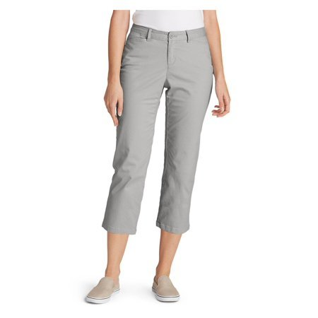 Eddie Bauer Women's Adventurer Stretch Ripstop Crop Cargo Pants Now $24 (Was $50)