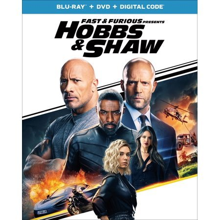 Fast & Furious Presents: Hobbs & Shaw Blu-ray Now $11.99 (Was $39.98)