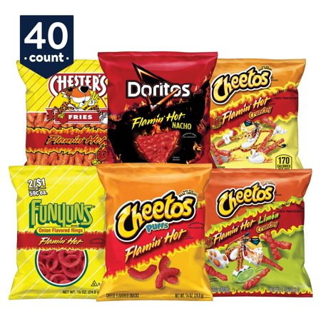Frito-Lay Fiery Mix Variety Pack 40-Count Now $11.04