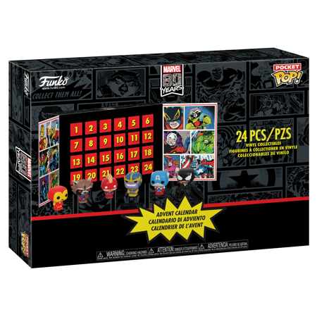 Funko Advent Calendar: Marvel 80th Anniversary, 24Pc Only $44 (Was $59.99)