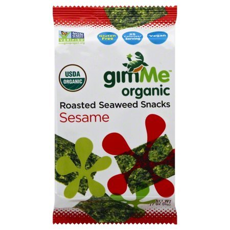 gimMe Snacks Organic Roasted Teriyaki Seaweed 20-Pack Now $9.72 (Was $15.99)