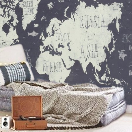 Mainstays World Wall Tapestry Now $5 (Was $19.98)