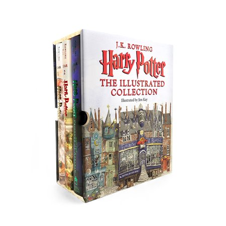 Harry Potter: Harry Potter: The Illustrated Collection Now $64.95