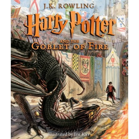 Harry Potter and the Goblet of Fire: The Illustrated Edition Book Now $17