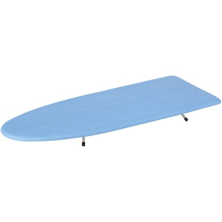 Honey Can Do Compact Table Top Ironing Board, Blue