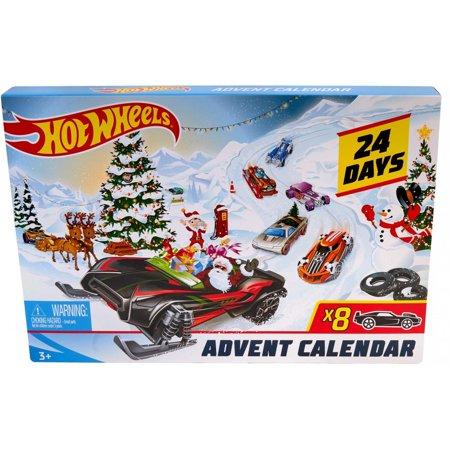 Hot Wheels 2019 Advent Calendar Vehicles Only $17.99