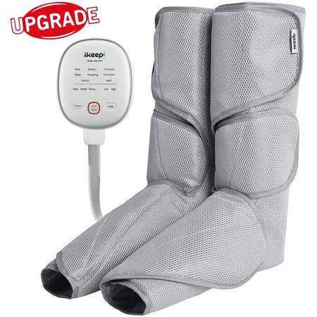 Leg Massager for Circulation, Air Compression with Heating Function Now $60.74 (Was $83)