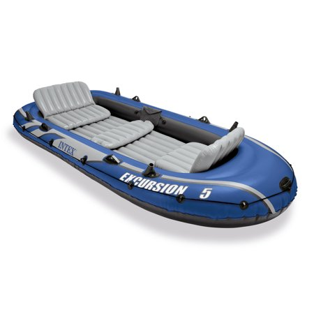 Intex Excursion 5 Inflatable Boat Set Now $80.24 (Was $124.69)