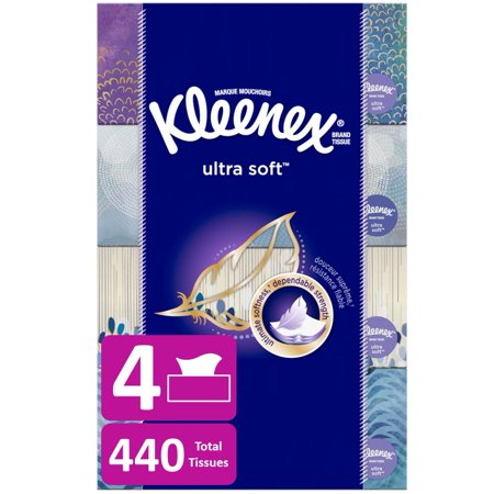 Kleenex Ultra Soft Facial Tissues, 1 Cube Box, 65 Count Now $1.51 (Was $2.99)