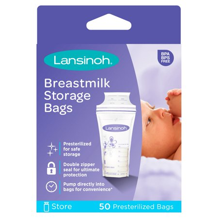 Lansinoh Breastmilk Storage Bags, 50 count Now $5.49 (Was $8.24)