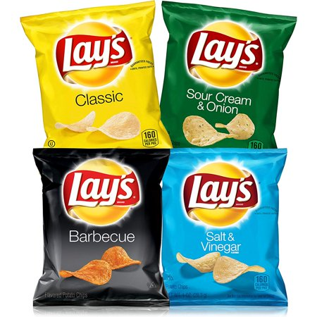 Lay's Potato Chip Variety Pack 40-Count Now $12.90