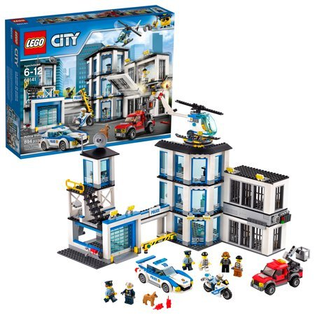 LEGO City Police Station Building Kit 894 Pieces Now $64.99 (Was $99.99)