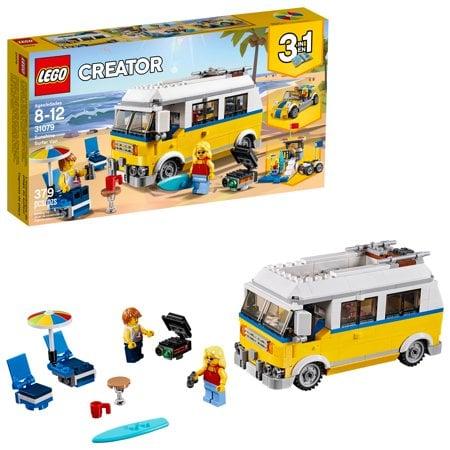 LEGO Creator 3in1 Sunshine Surfer Van31079Building Set