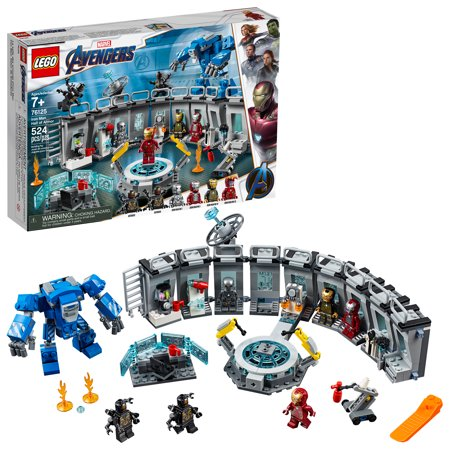 LEGO Marvel Avengers Iron Man Hall of Armor 76125