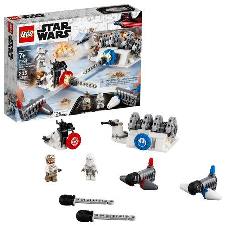 LEGO Star Wars: Action Battle Hoth Generator Attack 75239 Building Kit Now $17.99 (Was $29.99)