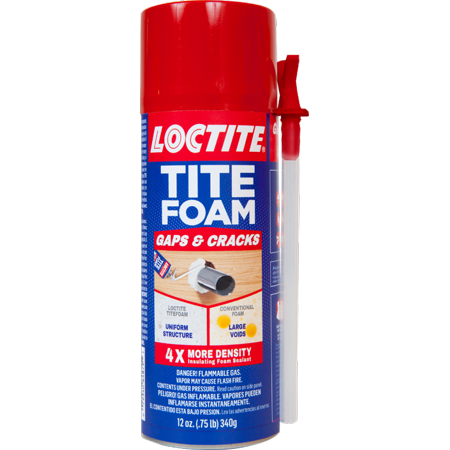 Loctite TITEFOAM Insulating Foam Sealant Now $4 (Was $7.99)