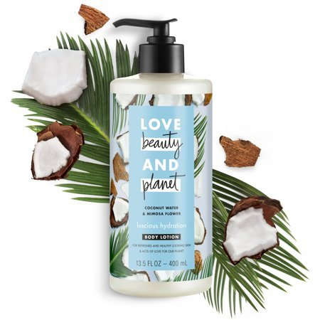 Love Beauty And Planet Body Lotion Argan Oil and Lavender Now $2.79 (Was $8.99)