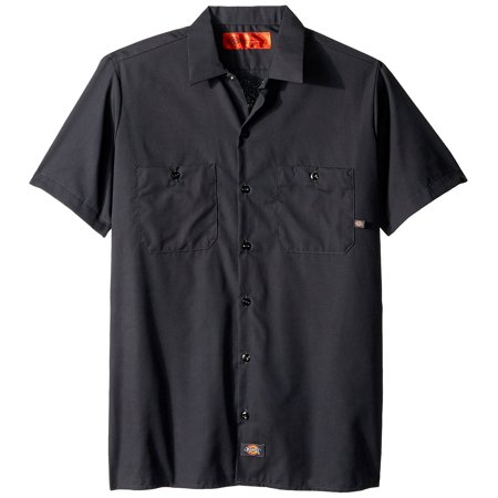 Dickies Men's Big and Tall Short Sleeve Work Shirt Now $13.99 (Was $36.00)