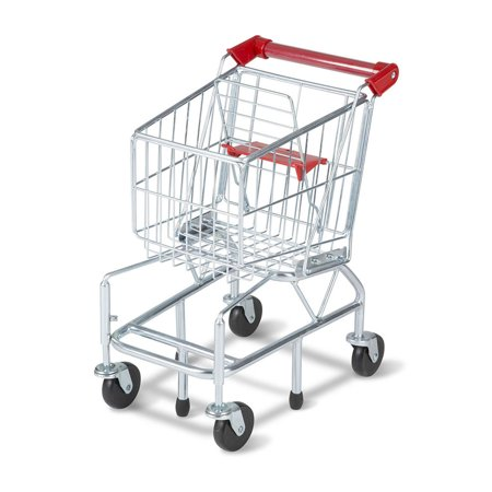 Melissa & Doug Toy Shopping Cart with Sturdy Metal Frame Now $32.75 (Was $69.99)