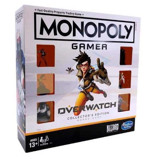 Monopoly Gamer: Overwatch Collector's Edition Board Game ONLY  at Game Stop