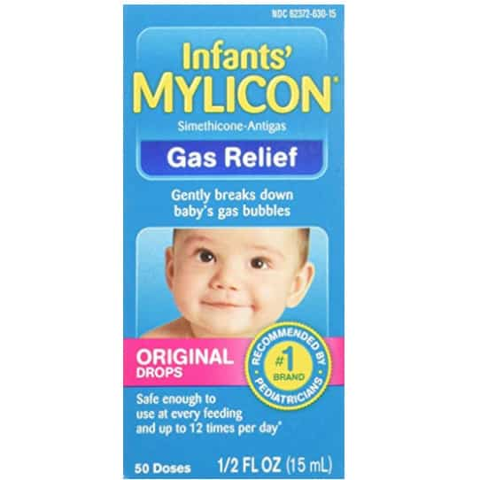 Mylicon Gas Relief Drops for Infants and Babies, 0.5 Fluid Ounce Now .52 (Was .79)