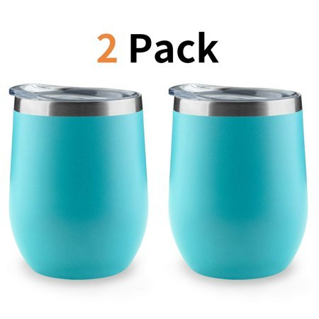 Vacuum Insulated Wine Tumbler with Lid Now $12.99 (Was $29.99)