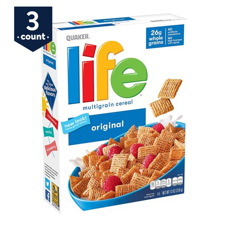 Life Breakfast Cereal 3-Pack Now $5.84