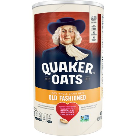 Quaker Old Fashioned Organic Rolled Oats 4-Pack Now $12.60