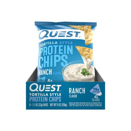 Quest Nutrition Tortilla Style Protein Chips Nacho 24-Count Now $27.28
