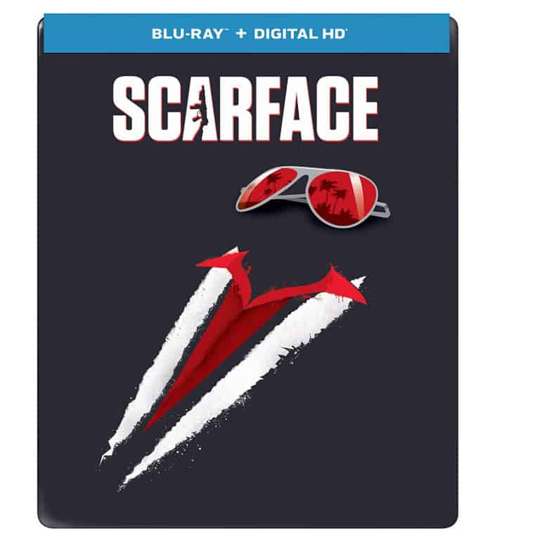 Scarface (1983) Limited Edition Blu-ray Steelbook Now .99