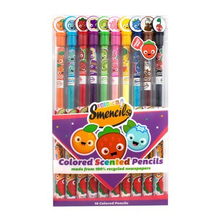 Scentco Halloween Smencils Scented Pencils 5-Count Now $7.99 (Was $22.34)