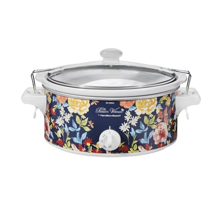 The Pioneer Woman Fiona Floral 6-Quart Portable Slow Cooker Now $21 (Was $39.99)