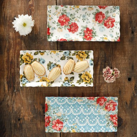 The Pioneer Woman Vintage Floral Serving Platter Now $9.99