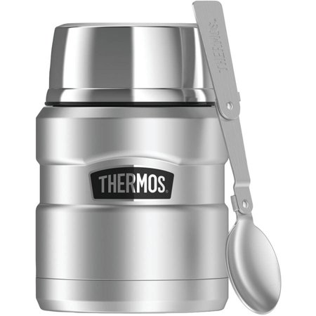 Thermos Stainless King 16 Ounce Food Jar with Folding Spoon Now $15.99 (Was $24.99)