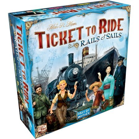Ticket to Ride: Rails & Sails Now $37.66 (Was $80.00)